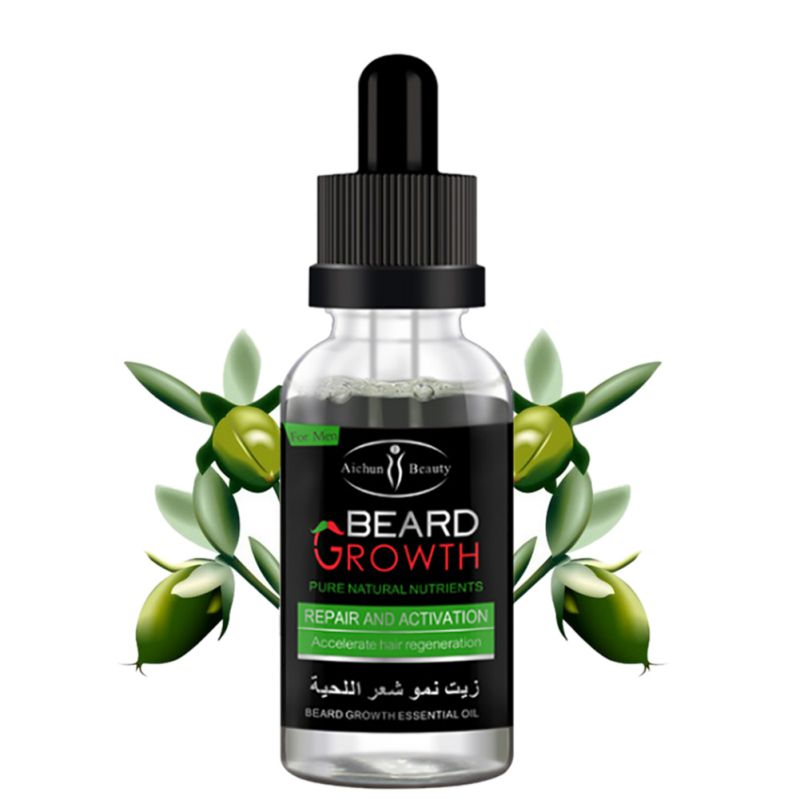 Professional Men Beard Growth Enhancer Facial Nutrition
