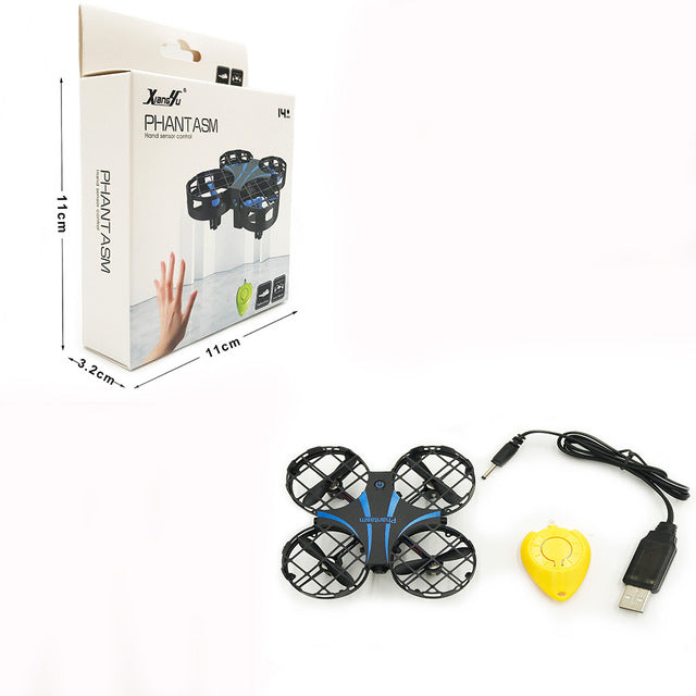 Mini RC Drone Infrared Sensing Dron Mini  Hand Gesture Control RC Quadcopter