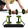 Fitness Ab Wheel Roller with Mat Trainer Abdominal Arm Leg Leg Exercise Multi-functional Exercise Fitness Gym Equipment