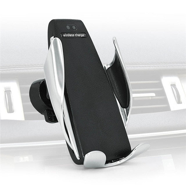 Automatic Clamping Wireless Car Charger for iPhone, Android