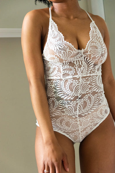 Tiff Laced Bodysuit - Miss Tino Boutique