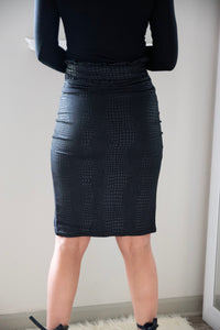 Classy Serpent Skirt - Miss Tino Boutique