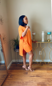 In Plain Sight Orange - Miss Tino Boutique