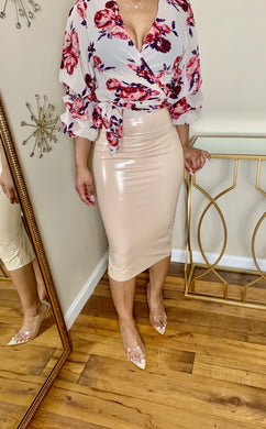 Spiced Almond Skirt - Miss Tino Boutique