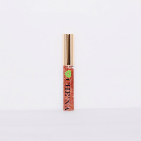 Handmade Flavored Lip Gloss: Amber (Cinnamon)