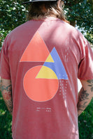 Shapes Tee (Crimson)