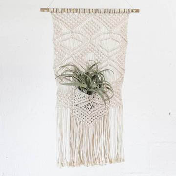 Macrame Wall Pocket
