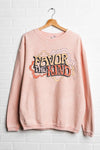 Favor The Kind Retro Cord Sweatshirt