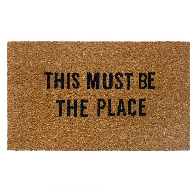 This Must Be The Place Doormat