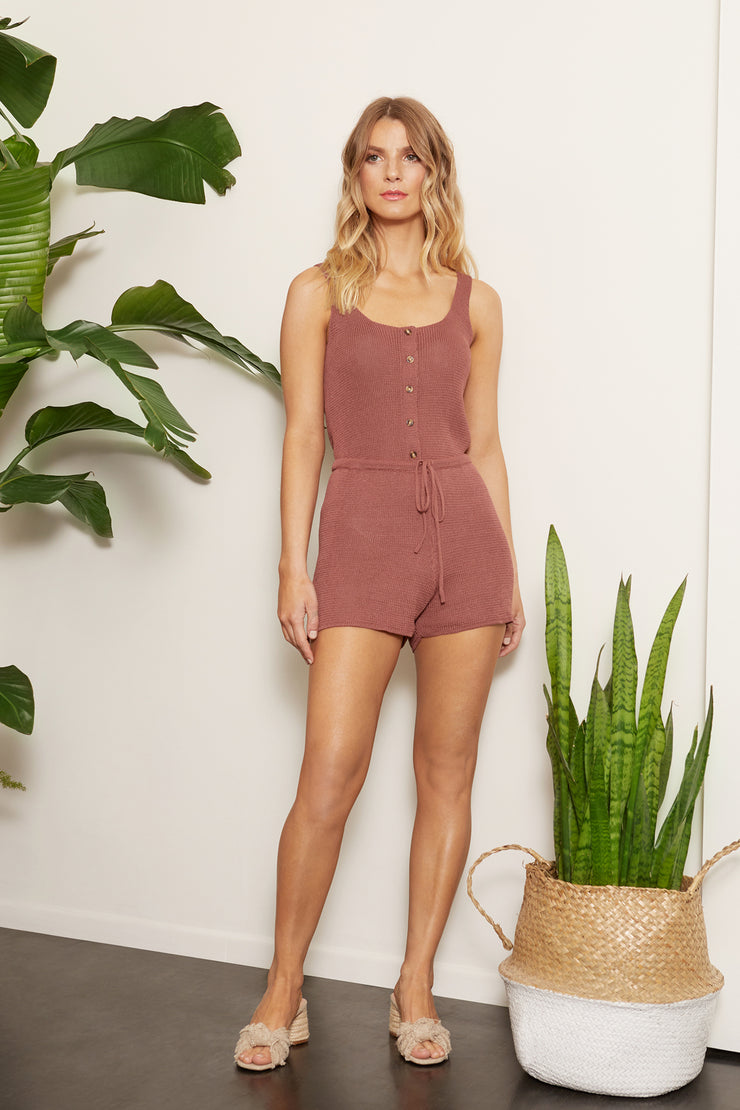 Lounge Knit Short Set
