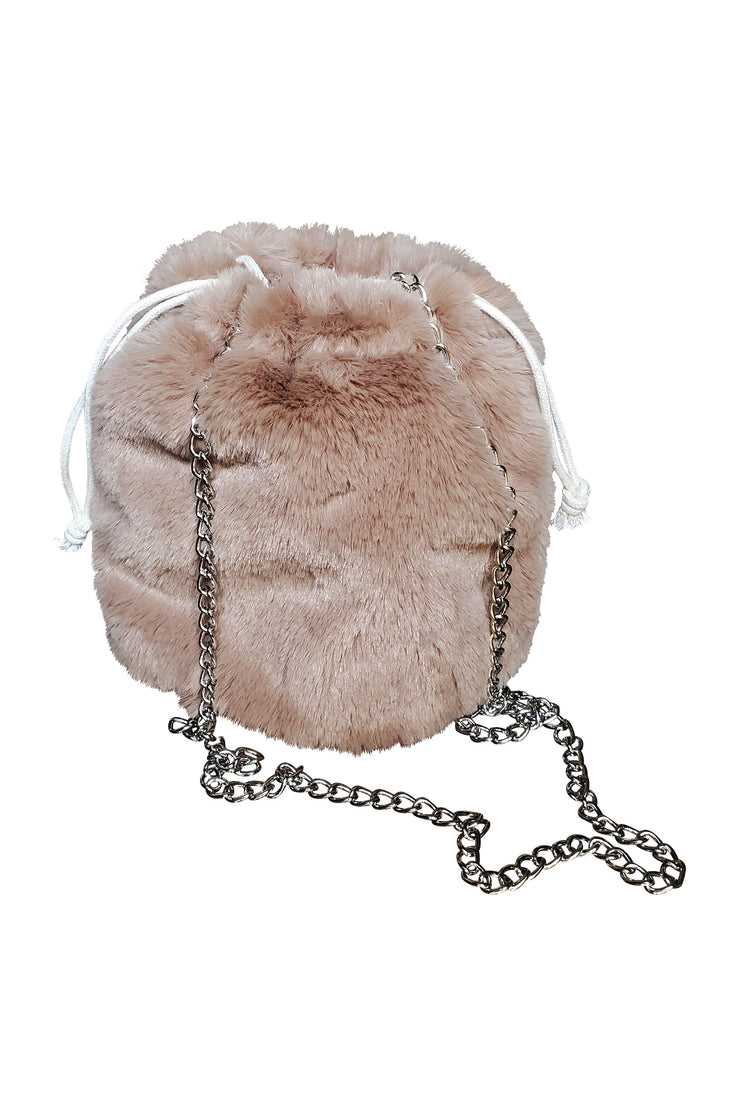 Fur Duo Bucket Bag