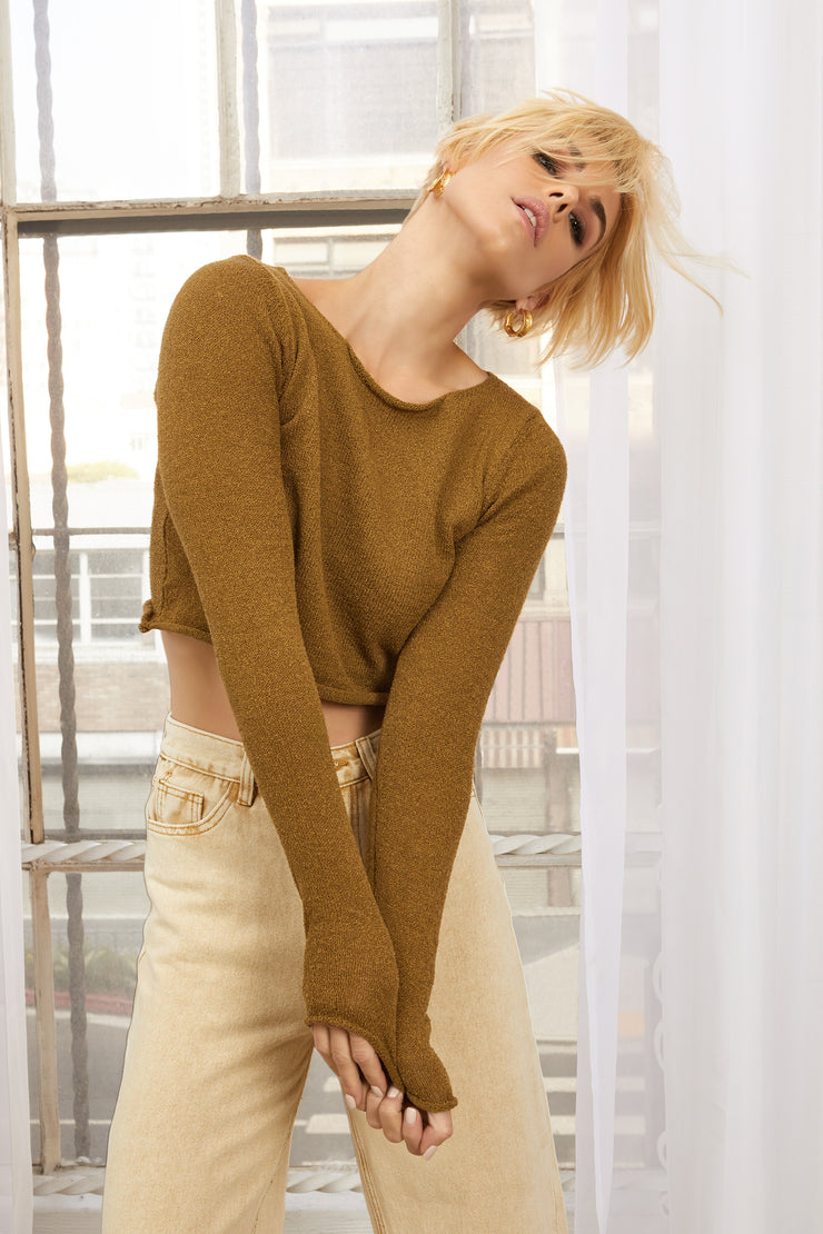Yareli Texture Knit Top