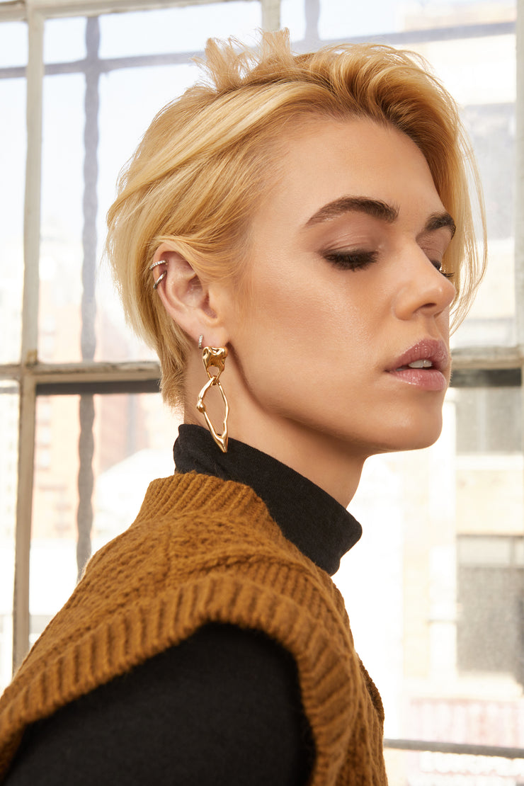 Emerson Gold Abstract Earrings