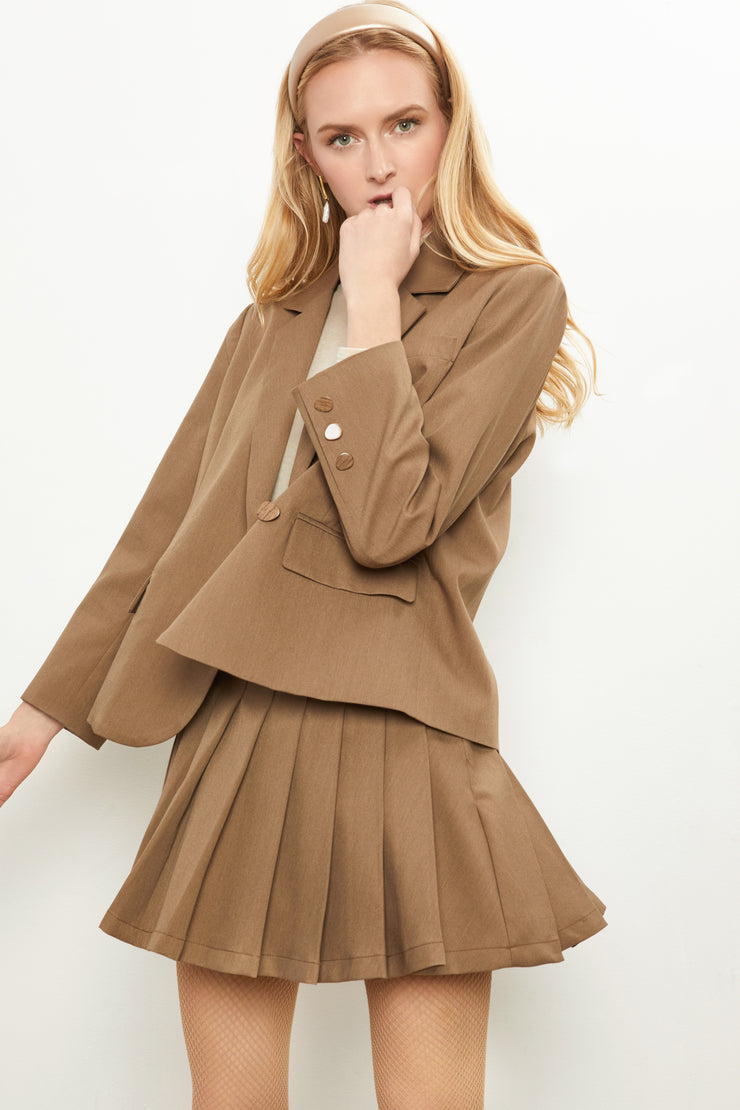 Brylee Blazer Skirt Set