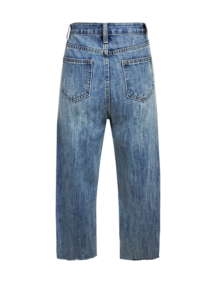 Slant Denim Jean