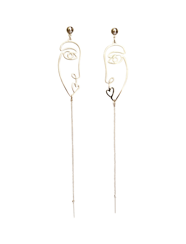 Two Faced Earrings