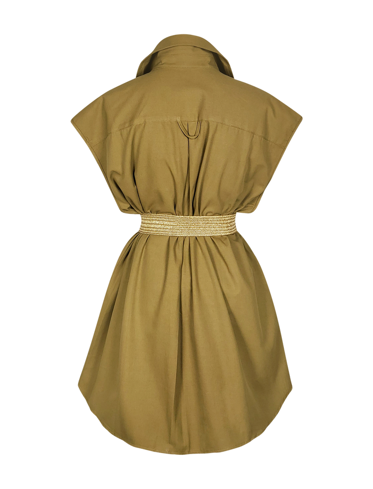 Saigon Utility Shirtdress