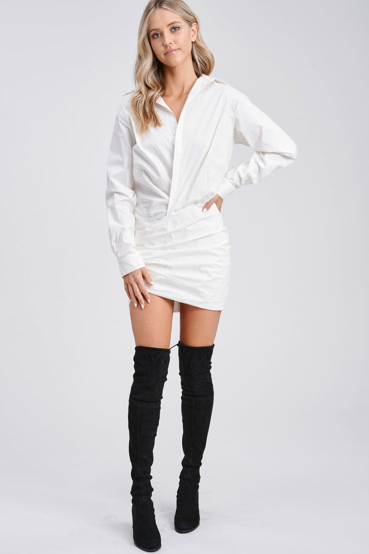 Reva Poplin Shirtdress