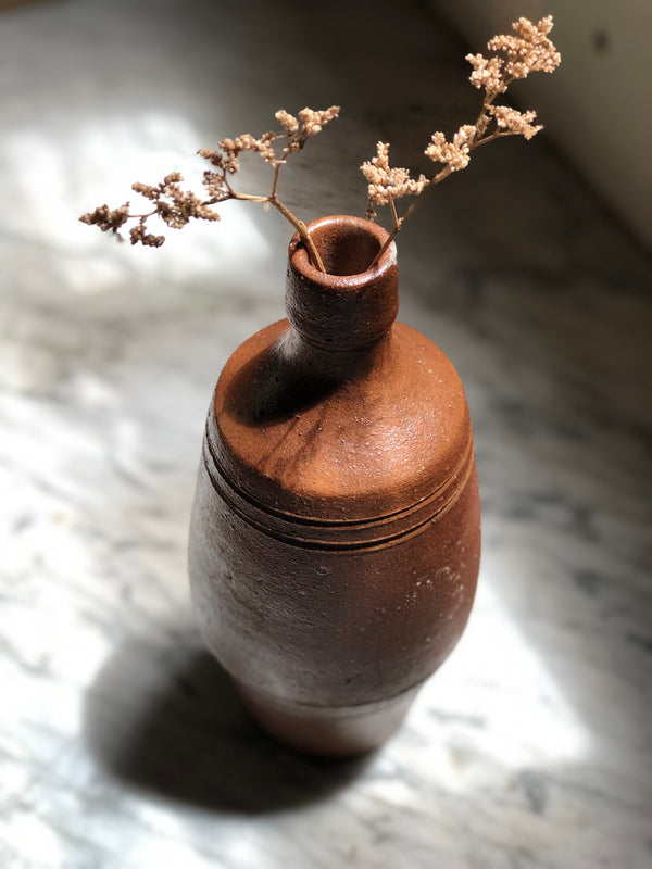 Textured Ceramic Bottle