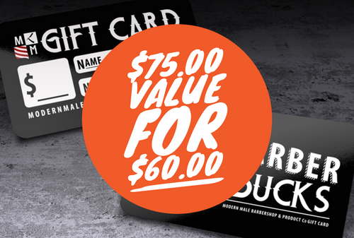 $75 value for $60 Gift Card