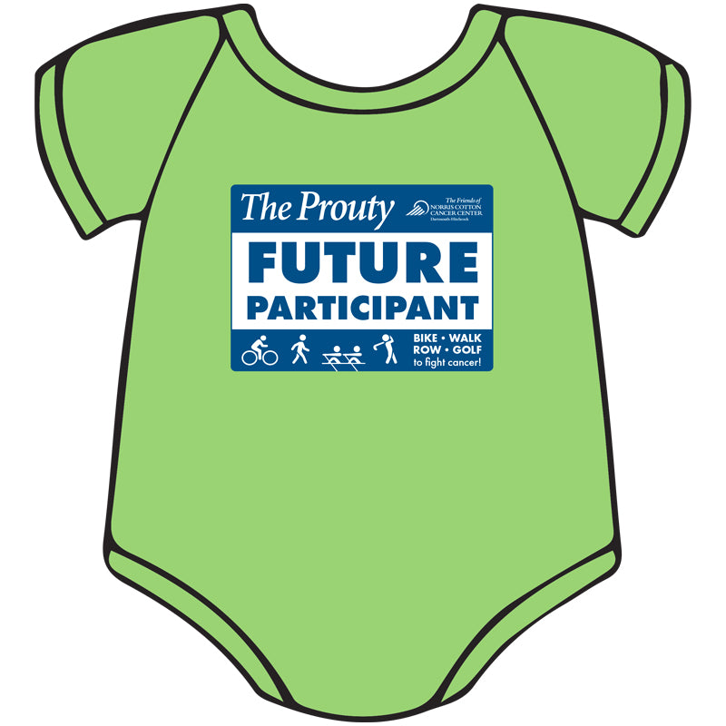 Prouty Onesie. New Item!