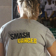 Load image into Gallery viewer, Women's Smash Cancer T-Shirt (New Balance)