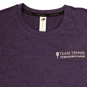 Women's Team Tennis to Smash Cancer T-Shirt (New Balance)