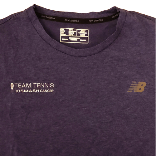 Men's Team Tennis to Smash Cancer T-Shirt (New Balance)