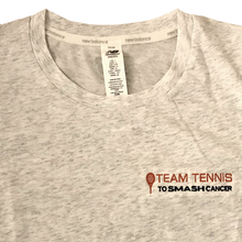 Load image into Gallery viewer, Women's Team Tennis to Smash Cancer T-Shirt (New Balance)