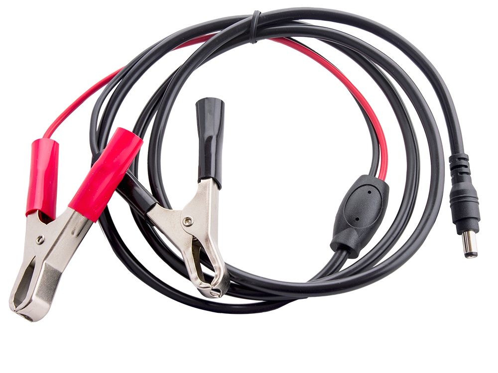 Power-Cable-2.1mm-12ft-12V-with-Battery-Clips