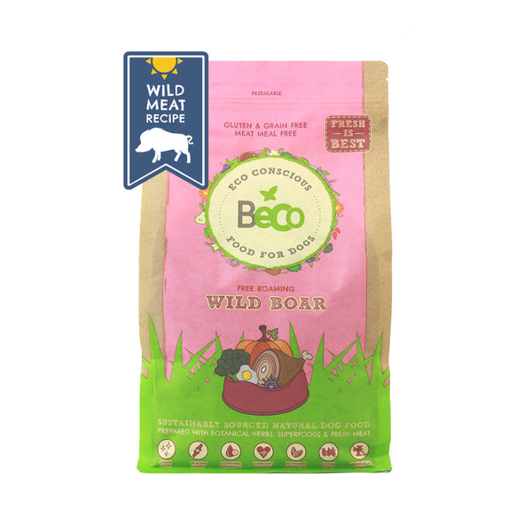 Beco Dog Food Wild Boar - The Norfolk Groomshed
