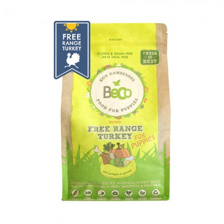 Beco Food for Puppies Free Range Turkey - The Norfolk Groomshed