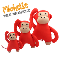 Beco Soft Dog Toy Michelle Monkey - The Norfolk Groomshed