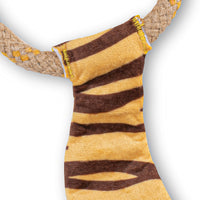 Beco Hemp Rope Tiger Dog Toy