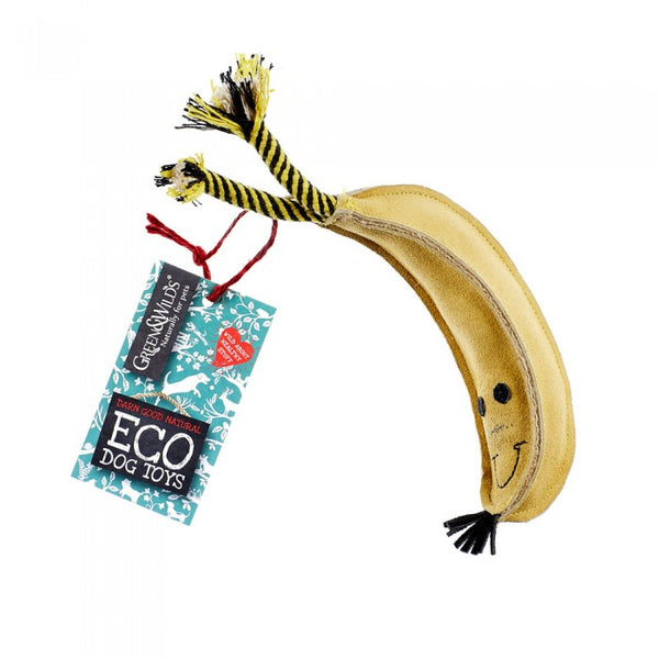 Barry The Banana Eco Dog Toy