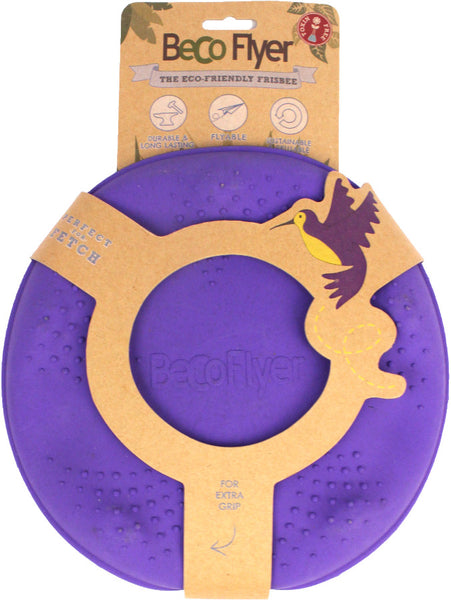 Beco Natural Rubber Flyer Frisbee