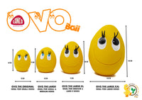 Lanco Ovo Eggs Large  - Set of 4