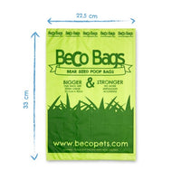 Beco Degradable Poop Bags, Unscented, 120 Pack