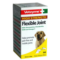 Vetzyme Flexible Joint Tablets High Strength - The Norfolk Groomshed