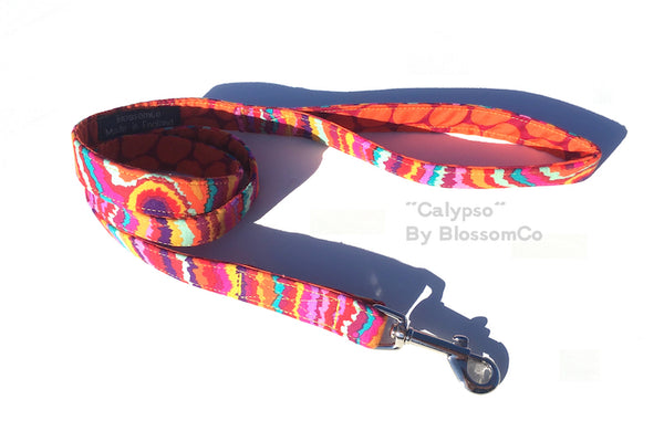 BlossomCo Fabric Dog Leads