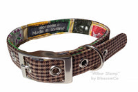 BlossomCo Wilbur Stamp Dog Collar - The Norfolk Groomshed