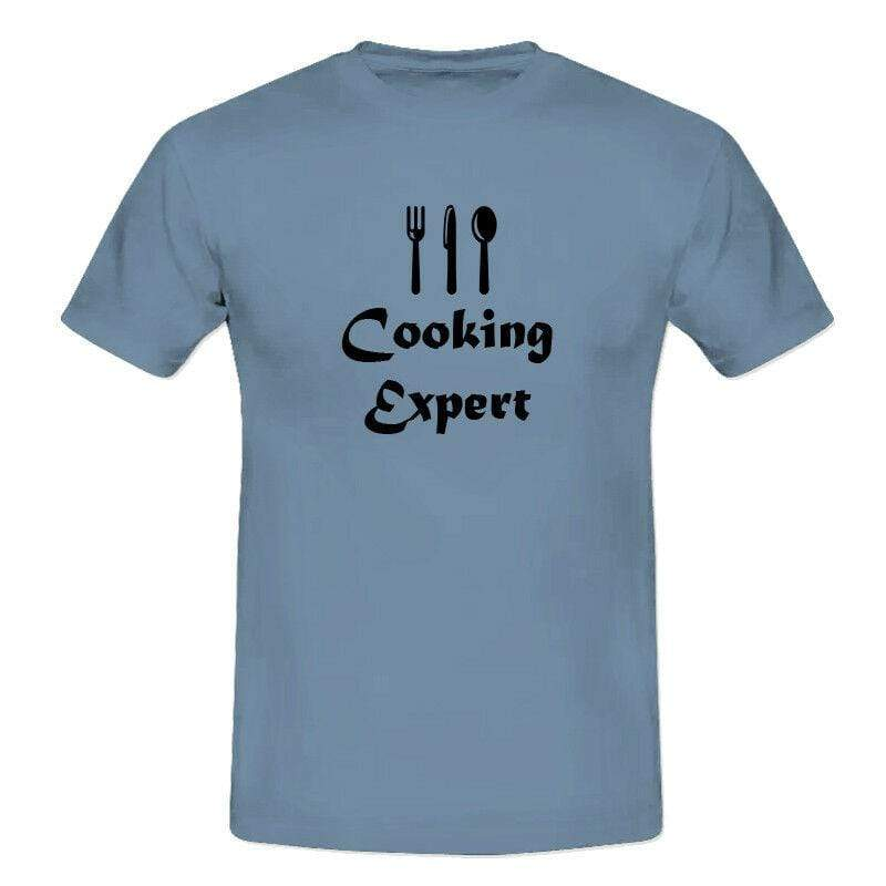 Men/'s Lads Cooking Expert Funny Humours Chef Cook T-Shirts S-XXL Perfect Gift 9