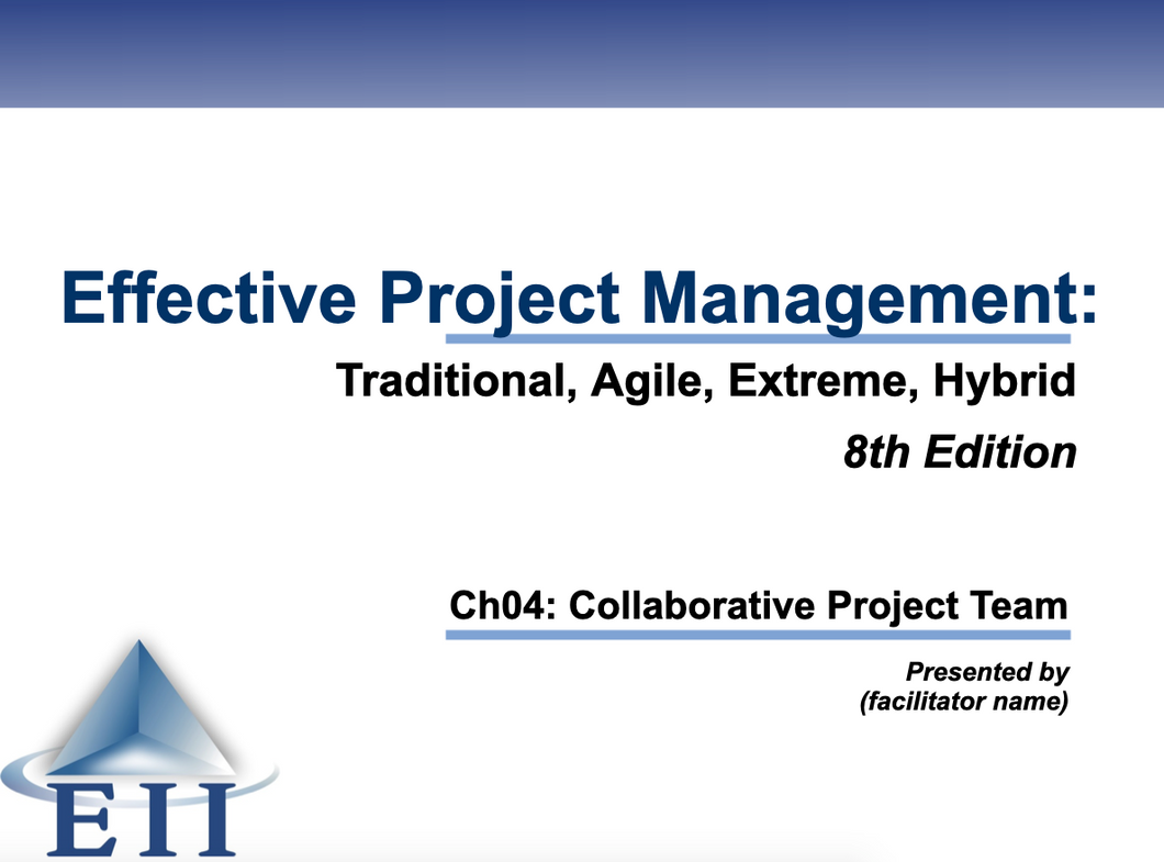 EPM8e Slides Ch04 Collaborative Project Team