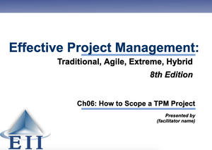 EPM8e Slides Ch06 How to Scope a TPM Project