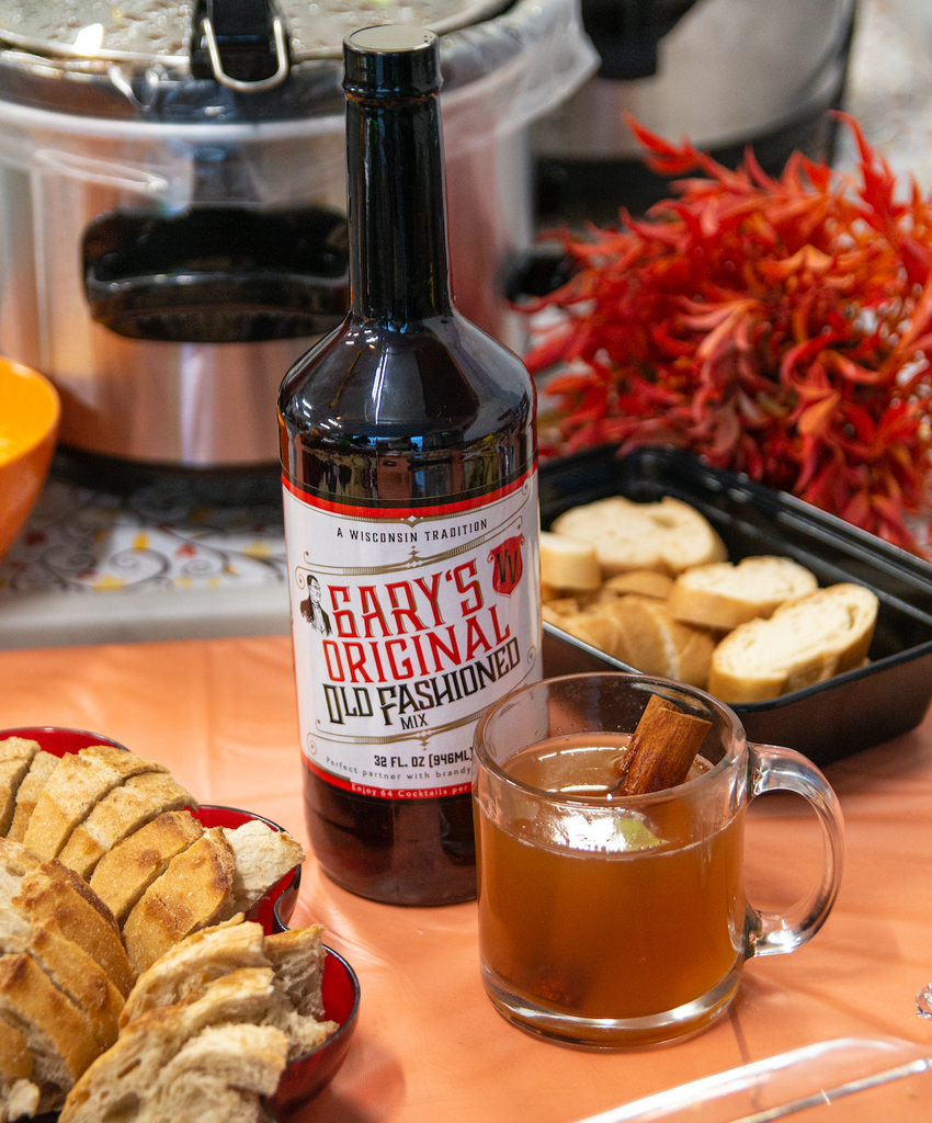 Garys Old Fashioned Mix - Hot Apple Cider Recipe