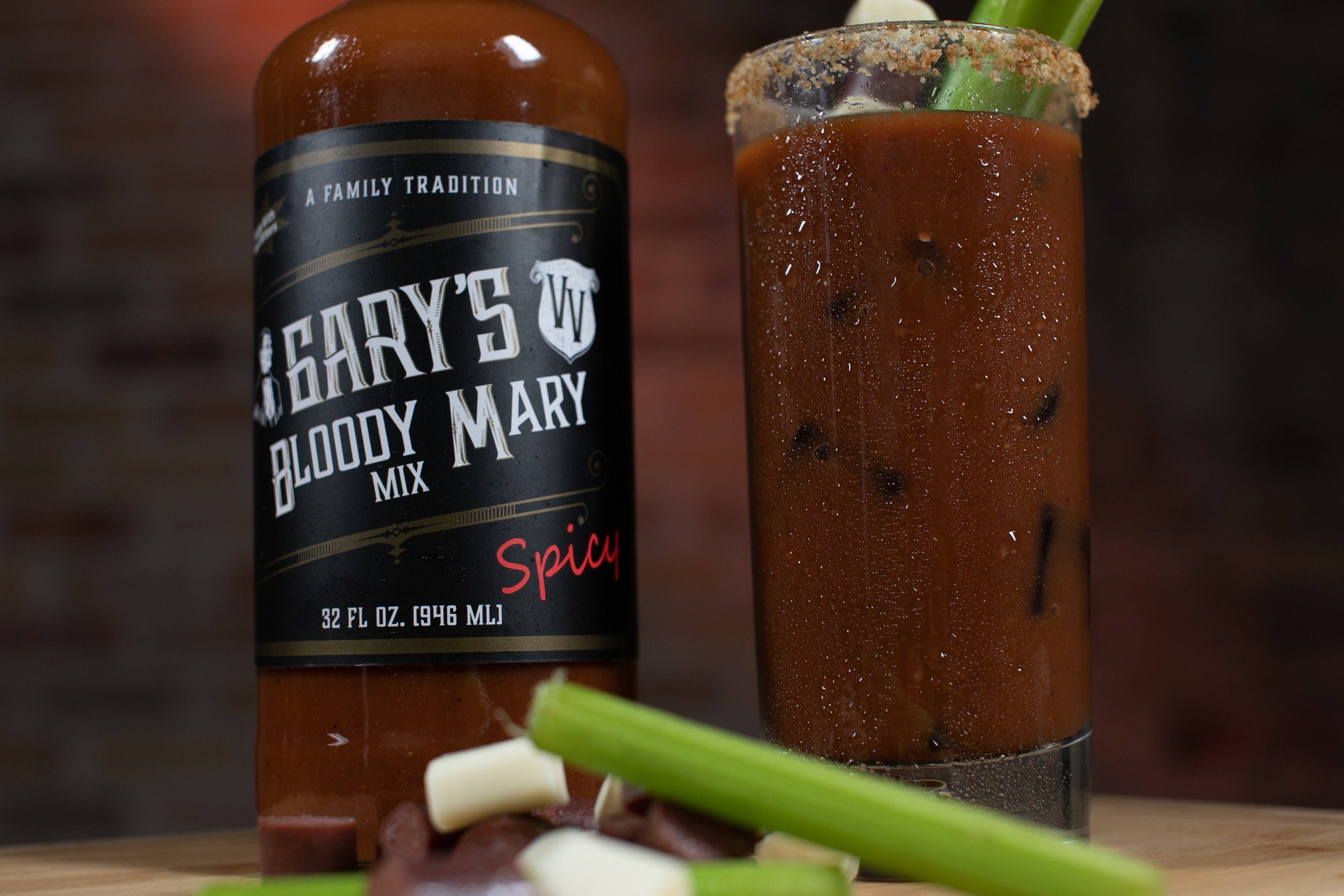 Gary's Spicy Bloody Mary Mix (32 FLOZ)