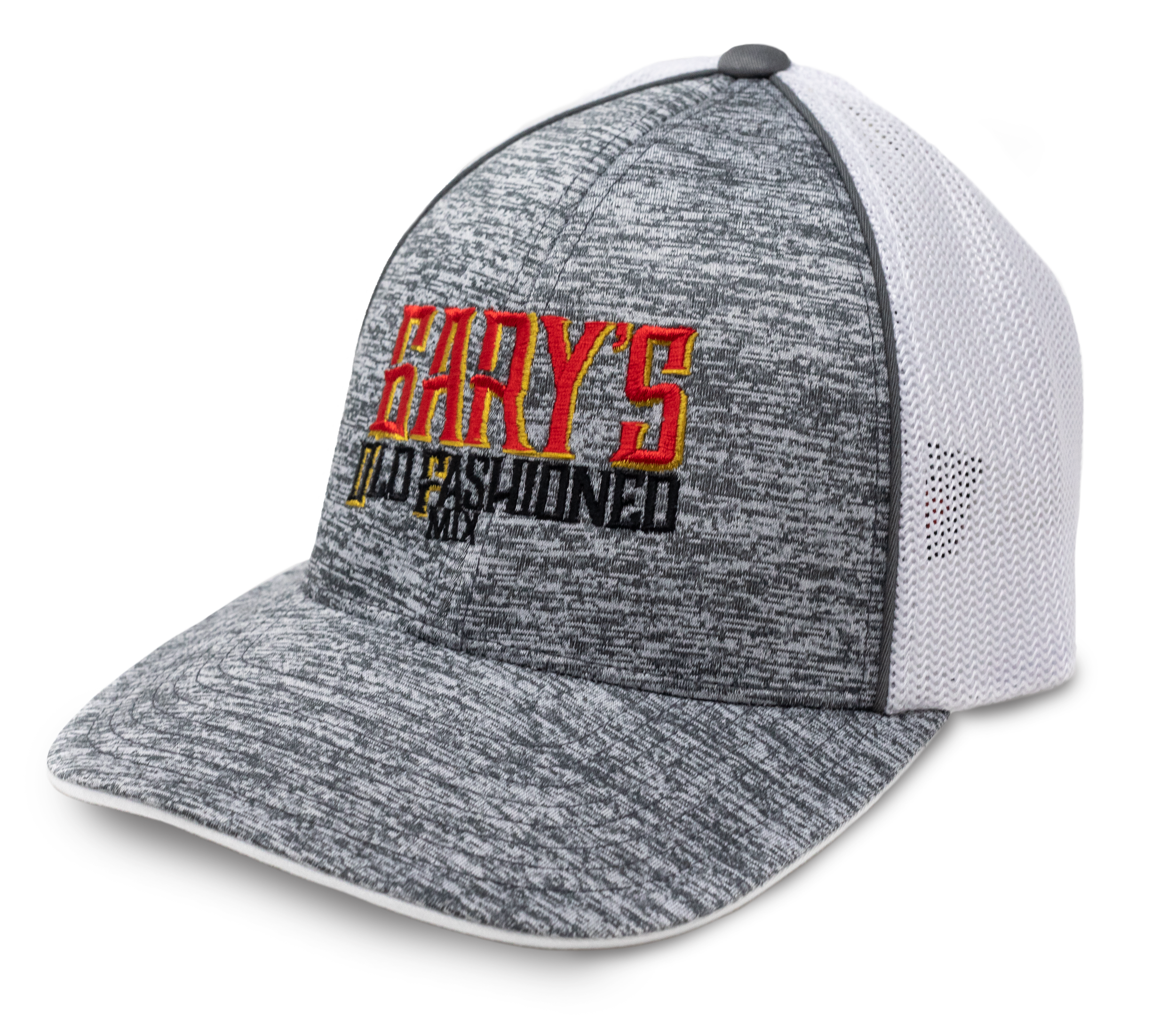 Gary's Old Fashioned Mix Logo Hat - Graphite Heather