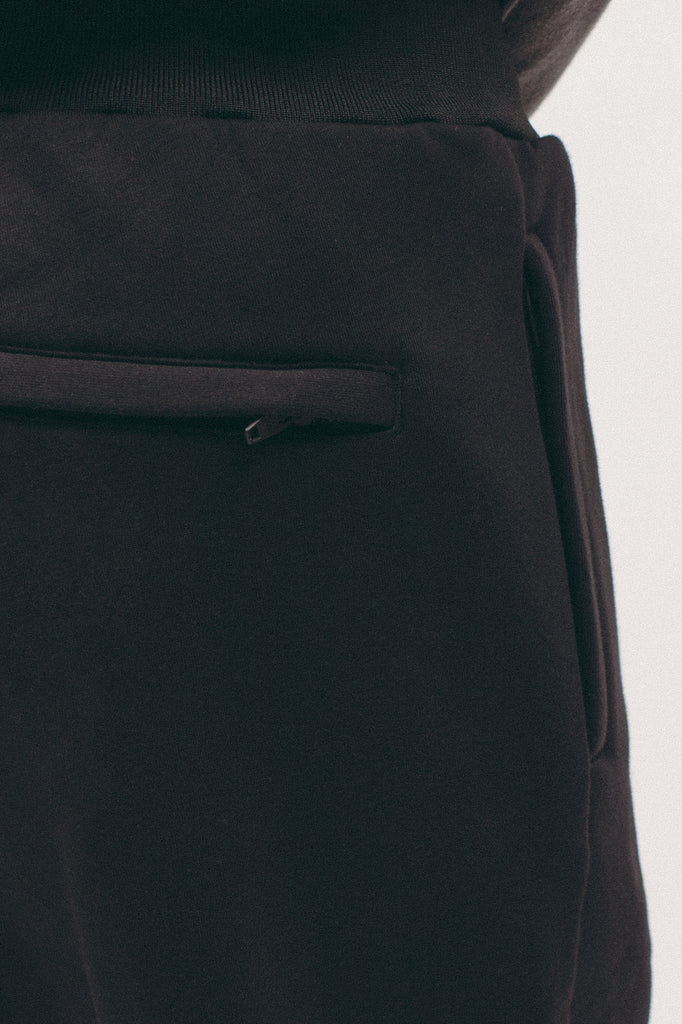POLY FLEECE PANT - BLACK