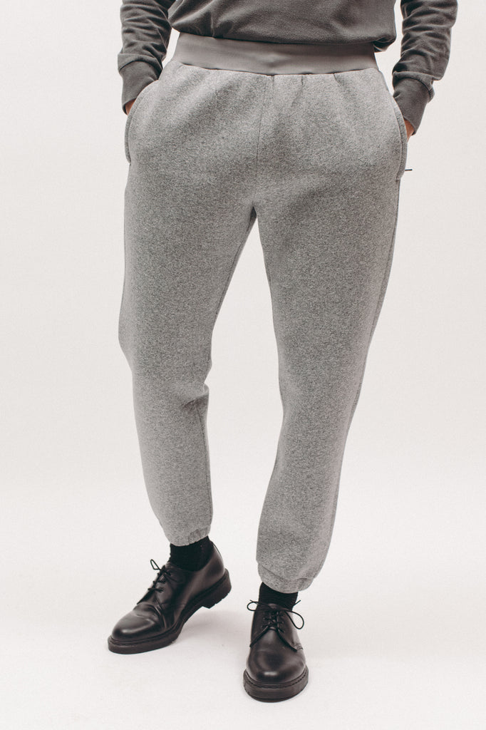 POLY FLEECE PANT - HEATHER