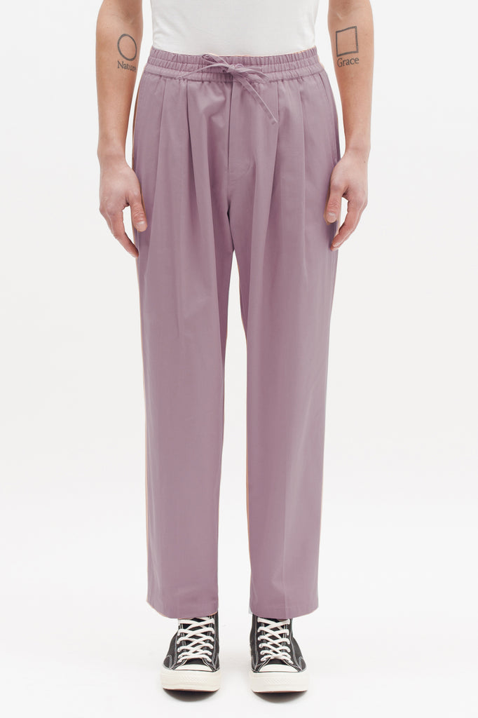 EASY ELASTIC TROUSERS - LAVENDER